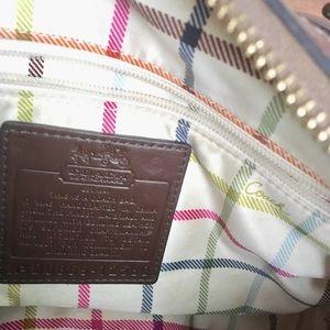 Coach Bags - Coach signature satchel with dust bag